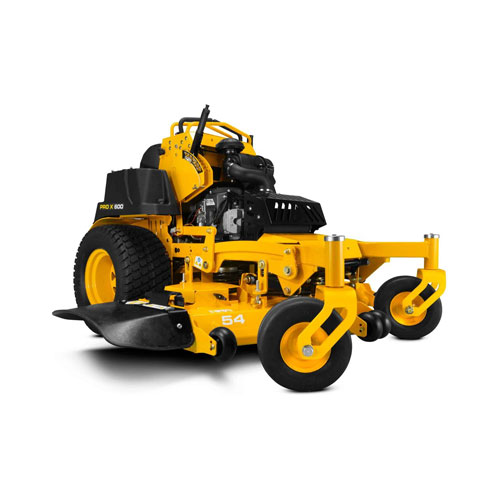 CUB CADET PRO X 654 COMMERCIAL STAND ON MOWER